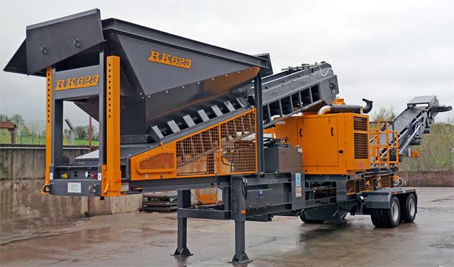 623S wheeled impact crusher